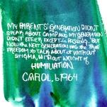 Carol - Weight